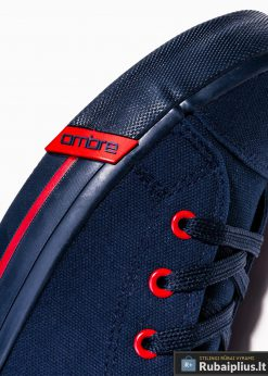 Stilingi vyriski paaukštinti tamsiai mėlyni laisvalaikio batai vyrams internetu pigiau T304TM šonas