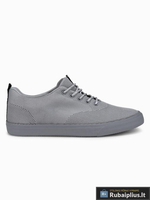 Stilingi vyriski pilki laisvalaikio batai vyrams internetu pigiau T303P vienas