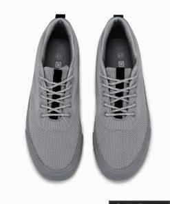 Stilingi vyriski pilki laisvalaikio batai vyrams internetu pigiau T303P viršus