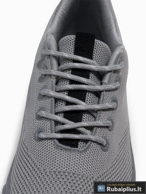 Stilingi vyriski pilki laisvalaikio batai vyrams internetu pigiau T303P raišteliai