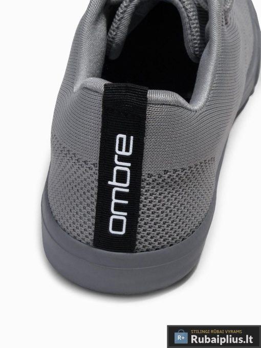 Stilingi vyriski pilki laisvalaikio batai vyrams internetu pigiau T303P kulnas