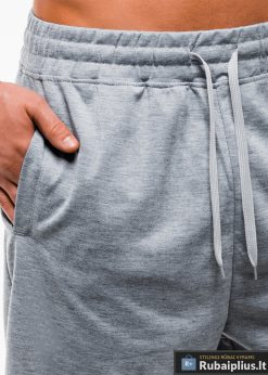 Vyriski pilki šortai vyrams internetu pigus W181P kišenė