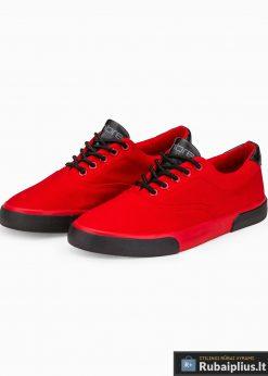 Vyriski sportba�iai raudoni laisvalaikio batai vyrams internetu pigiau T300R pora
