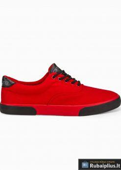 Vyriski sportba�iai raudoni laisvalaikio batai vyrams internetu pigiau T300R vienas