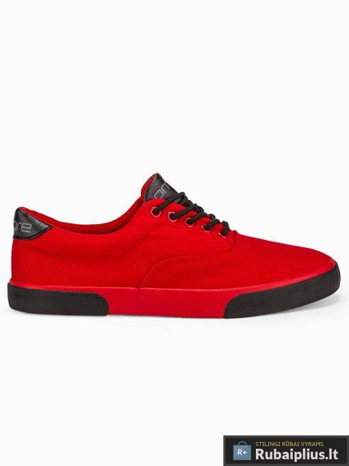 Vyriski sportbačiai raudoni laisvalaikio batai vyrams internetu pigiau T300R vienas