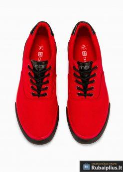 Vyriski sportba�iai raudoni laisvalaikio batai vyrams internetu pigiau T300R viršus