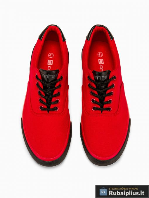 Vyriski sportbačiai raudoni laisvalaikio batai vyrams internetu pigiau T300R viršus