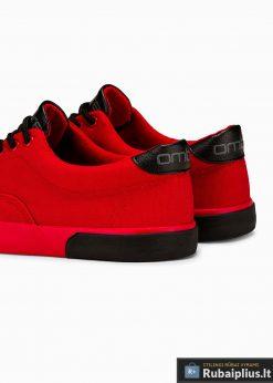 Vyriski sportba�iai raudoni laisvalaikio batai vyrams internetu pigiau T300R galas