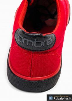 Vyriski sportba�iai raudoni laisvalaikio batai vyrams internetu pigiau T300R kulnas