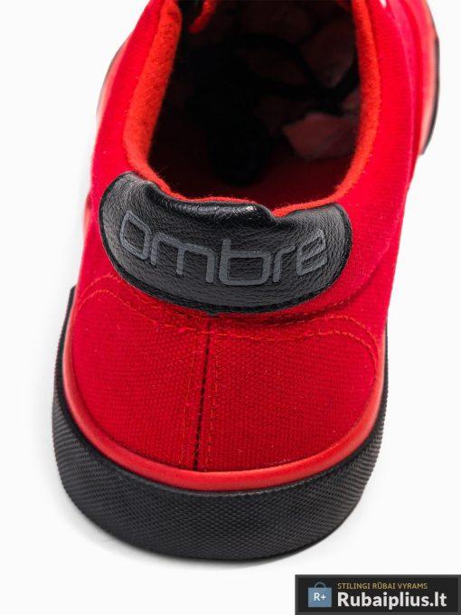 Vyriski sportbačiai raudoni laisvalaikio batai vyrams internetu pigiau T300R kulnas