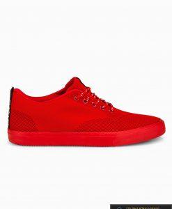Vyriski sportbačiai raudoni laisvalaikio batai vyrams internetu pigiau T303R vienas