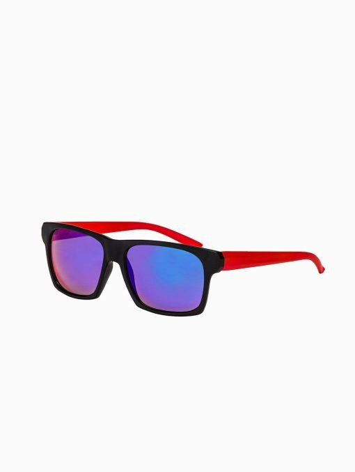 Madingi raudoni vyriški akiniai vyrams internetu pigiau A168R rėmelis