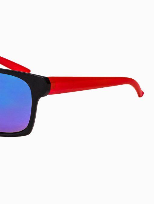 Madingi raudoni vyriški akiniai vyrams internetu pigiau A168R kojelė