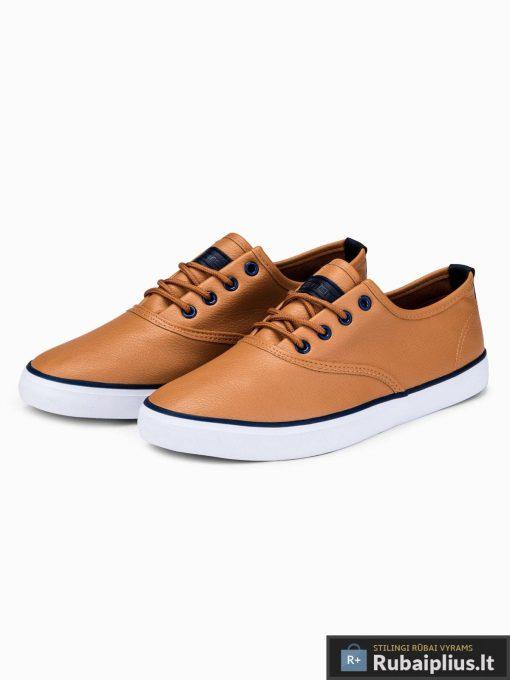 Stilingi vyriski rudi laisvalaikio batai vyrams internetu pigiau T305RUD pora
