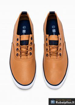 Stilingi vyriski rudi laisvalaikio batai vyrams internetu pigiau T305RUD vyršus