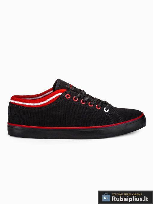 Stilingi vyriski slipon juodi laisvalaikio batai vyrams internetu pigiau T302J vienas