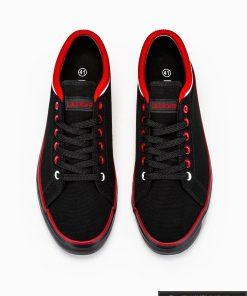 Stilingi vyriski slipon juodi laisvalaikio batai vyrams internetu pigiau T302J viršus