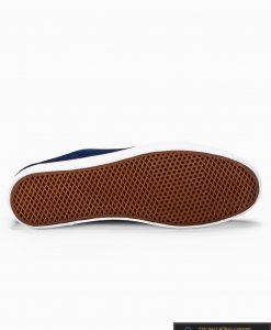 Slip on vyriski tamsiai mėlyni laisvalaikio batai vyrams su tinkleliu internetu pigiau T308TM padas