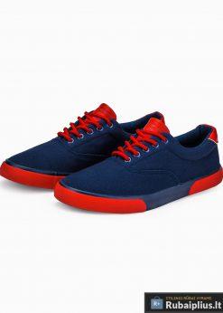 Stilingi sportiniai vyriski tamsiai mėlyni laisvalaikio batai vyrams internetu pigiau T300TM pora