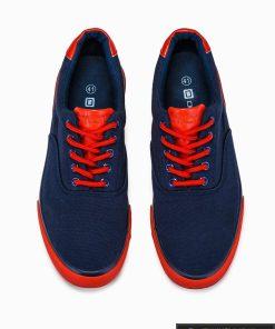 Stilingi sportiniai vyriski tamsiai mėlyni laisvalaikio batai vyrams internetu pigiau T300TM viršus