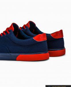 Stilingi sportiniai vyriski tamsiai mėlyni laisvalaikio batai vyrams internetu pigiau T300TM iš galo