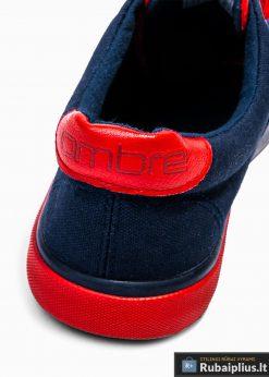 Stilingi sportiniai vyriski tamsiai mėlyni laisvalaikio batai vyrams internetu pigiau T300TM kulnas