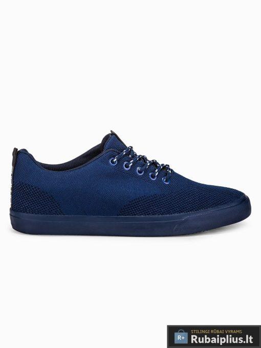 Stilingi vyriski tamsiai mėlyni laisvalaikio batai vyrams internetu pigiau T303TM vienas