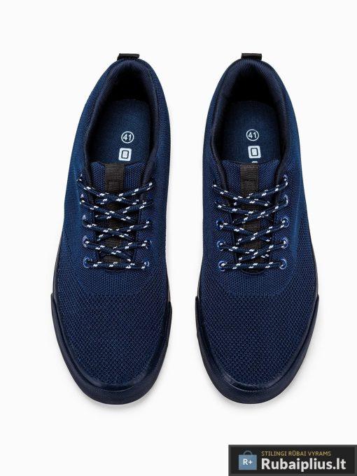 Stilingi vyriski tamsiai mėlyni laisvalaikio batai vyrams internetu pigiau T303TM viršus
