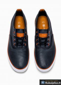 Vyriski tamsiai mėlyni laisvalaikio batai vyrams internetu pigiau T305TM viršus