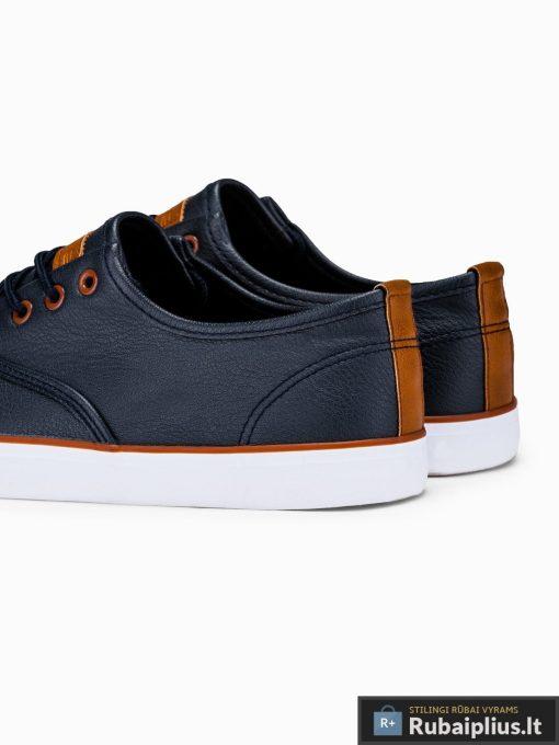 Vyriski tamsiai mėlyni laisvalaikio batai vyrams internetu pigiau T305TM kulnas