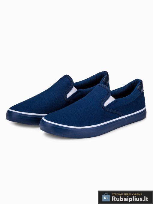 Tamsiai mėlyni laisvalaikio batai vyrams vyriski sportbačiai internetu pigiau T301TM pora