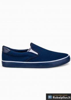 Tamsiai mėlyni laisvalaikio batai vyrams vyriski sportbačiai interneastu pigiau T301TM vien