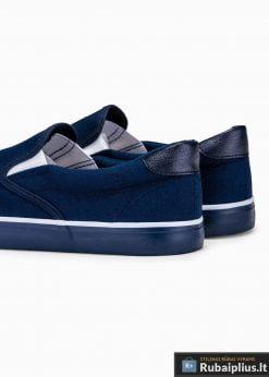 Tamsiai mėlyni laisvalaikio batai vyrams vyriski sportbačiai internetu pigiau T301TM galas