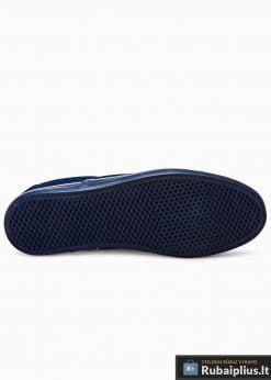 Tamsiai mėlyni laisvalaikio batai vyrams vyriski sportbačiai internetu pigiau T301TM padas
