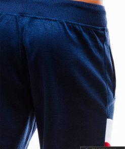 Vyriski tamsiai mėlyni šortai vyrams internetu pigus W174TM iš galo