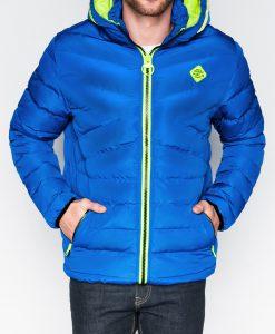 Rudeninė vyriška mėlyna striukė internetu pigiau Max C363 10343-1