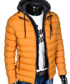 Žieminės striukės vyrams internetu pigiau Uffo C384 10571-5
