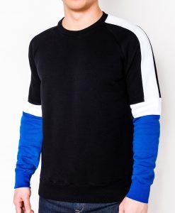 Juodas vyriškas džemperis internetu pigiau B872 10580-1