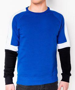 Mėlynas vyriškas džemperis internetu pigiau B872 10583-1