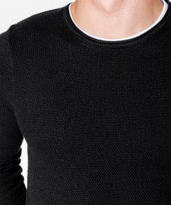 Juodas megztinis vyrams internetu pigiau E121 11558-3