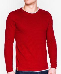 Raudonas vyriškas megztinis internetu pigiau E121 11559-1