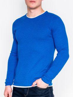 Mėlynas vyriškas megztinis internetu pigiau E121 11564-1