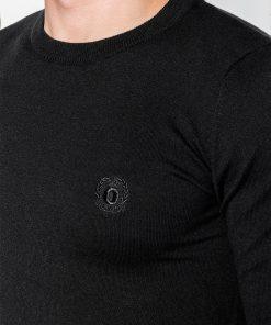 Juodas vyriskas megztinis internetu pigiau Kwist E122 11565-3