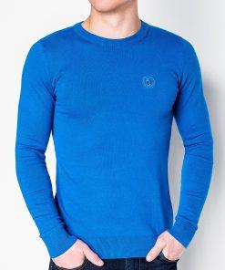 Mėlynas vyriškas megztinis internetu pigiau Kwist E122 11570