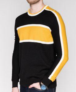 Geltonas vyriškas megztinis internetu pigiau E14511642-1