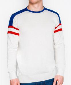 Baltas vyriškas megztinis internetu pigiau E14611643-1
