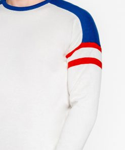 Baltas megztinis vyriskas internetu pigiau E14611643-3
