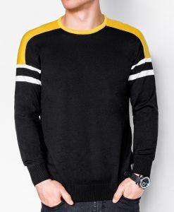 Juodas vyriškas megztinis internetu pigiau E14611644-1