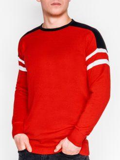 Raudonas vyriškas megztinis internetu pigiau E146 11645-1