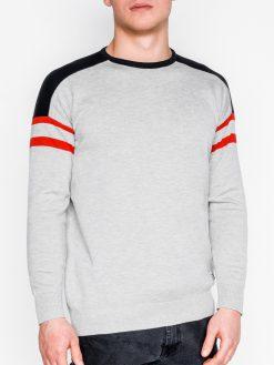 Pilkas vyriškas megztinis internetu pigiau E14611647-1